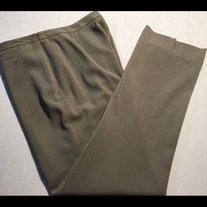 Anne Klein Womens Dress Pants Side Zip Sz 12 B035